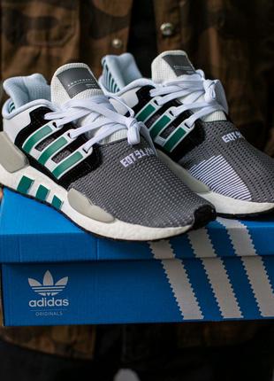 Кроссовки Adidas EQT Support white grey