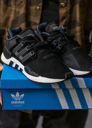 Кроссовки Adidas EQT Support Black\White