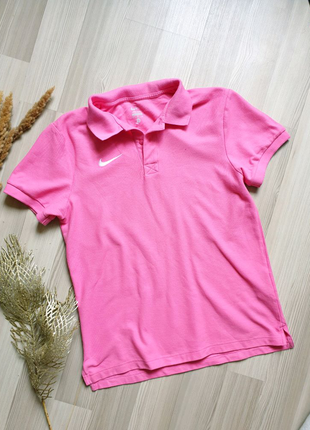 Nike тенниска поло футболка розовая