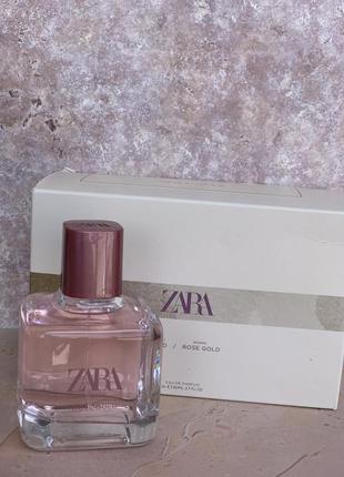 Духи zara rose gold /парфюм/туалетная вода/парфуми/туалетна вода