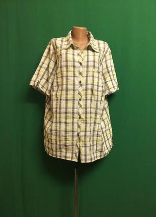 Длинная летняя большая рубашка