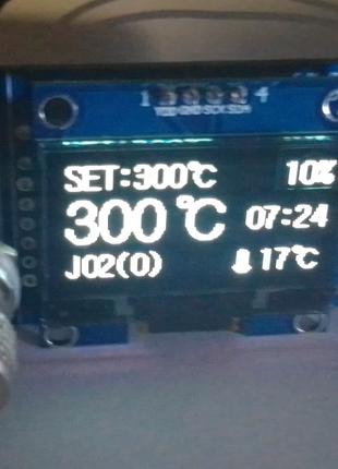 """Контроллер HAKKO T12 STM32 1,3"""" Ver 2.1s"""