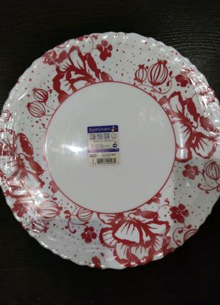 Набор тарелок Luminarc Alcove Red H2453 (250мм) 6 шт