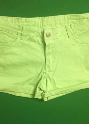 Подростковые джинсовые шорты crash one (158) 12-13 лет
