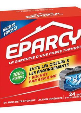 Порошок-биоактиватор Eparcyl для выгребных ям и туалетов 24 шт