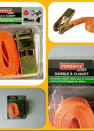Стяжной ремень 5м с трещеткой. Шнур, кабель, удлинитель, верёвка.