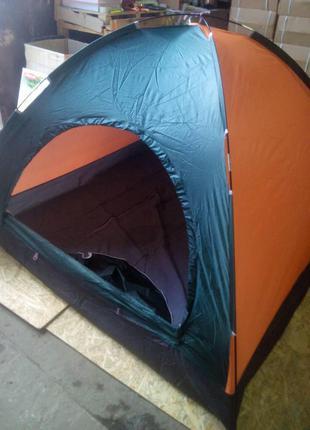 Двухместная палатка туристическая водонепроницаемая для кемпинга,
