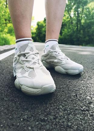 Кроссовки женские Adidas Yeezy boost 500