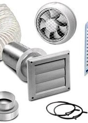 Чистка вентиляции установка вытяжных вентиляторов