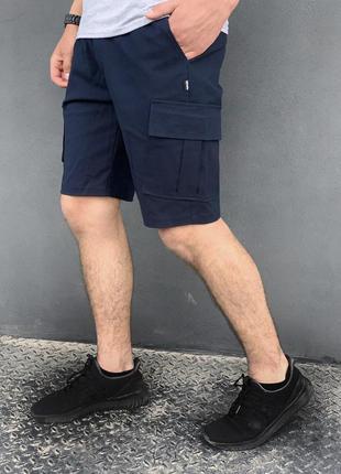 """Мужские шорты """"miami"""" intruder синие летние"""