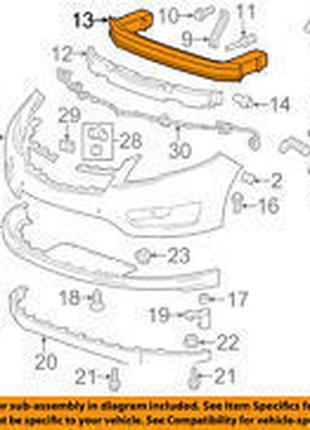 Усилитель переднего бампера Chevrolet Volt 11-15 20860494