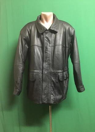 Кожаная утепленная куртка fiocchi