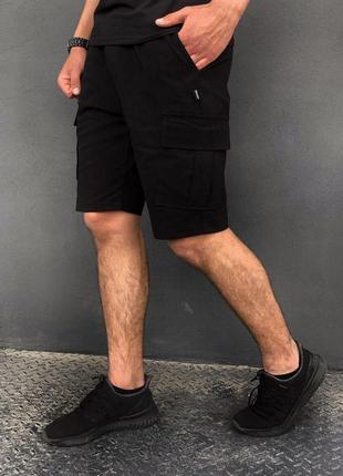 """Мужские шорты """"miami"""" intruder черные летние"""