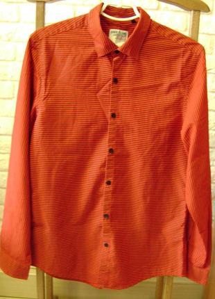 Мужская рубашка британского бренда River Island.