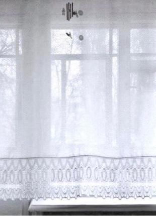 Белая полупрозрачная штора. шторы. шторка.портьера.портьеры.гарди