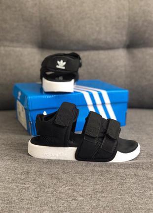 Adidas sandals ✰ женские босоножки ✰ сандалии черного цвета 😻