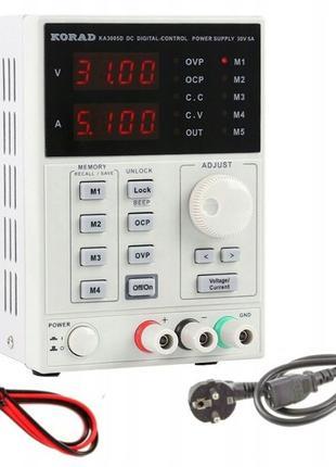KORAD KA3005D Программируемый лабораторный блок питания 30в 5а