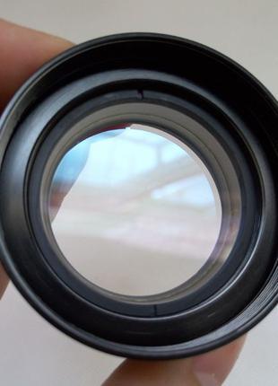 Линза Барлоу 0.5х Объектив микроскопа увеличение фокусного 165...