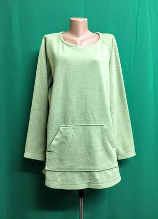 Длинная флисовая толстовка-туника alibi clothing