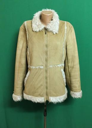 Распродажа #демисезонная  куртка под дубленку yunjei