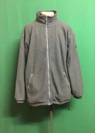 Флисовая куртка-толстовка с подкладкой stanno