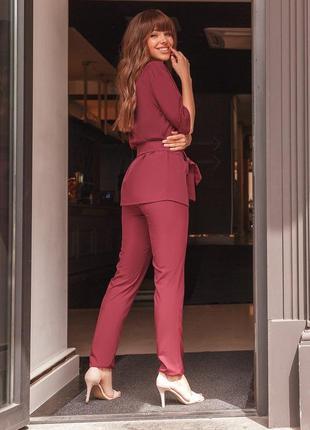 Женский костюм тройка (брюки, маечка, кардиган) цвета разные