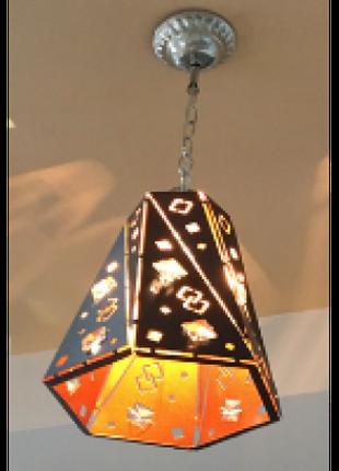 Люстра потолочная подвесная в стиле LOFT (ЛОФТ)