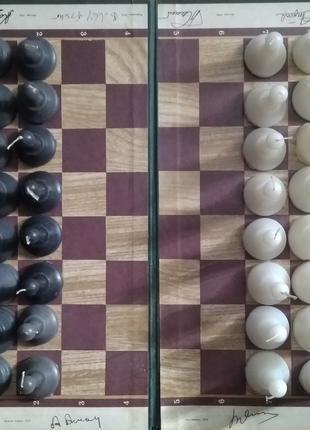 Свечи-шахматы