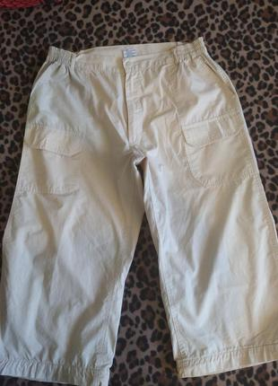 Классные мужские шорты капри бермуды размер 50 укр