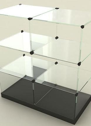 Фурнитура для витрина-горка куб