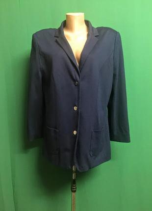 Трикотажный плотный пиджак atelier