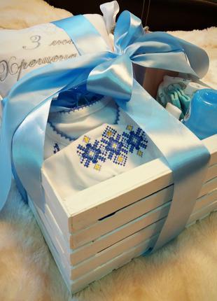 Подарунковий набір для хрещення