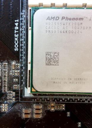 Процессор AMD Phenom X4 9950 2,60GHz/2Mb/2000MHz