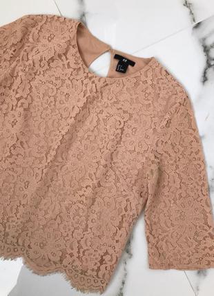 Кружевная блузка h&m 💋