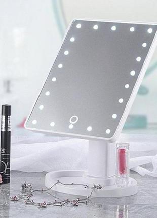Зеркало настольное с подсветкой led – бренд large led mirror 8...