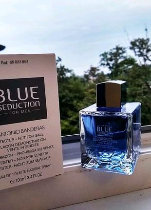Antonio Banderas blue seduction 100ml.