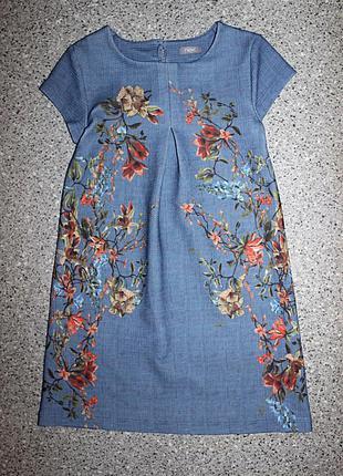 Платье некст 6-7 лет