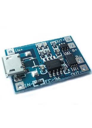 Модуль зарядки литиевых батарей TP4056 с защитой