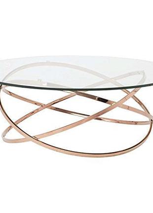 Купить журнальный стол со стеклом зеркалом в стиле лофт