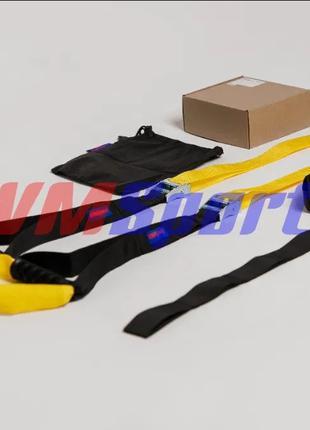 Петли TRX подвесные/функциональные тренажер для фитнеса аналог