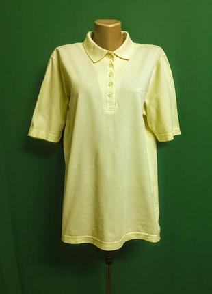 Длинная футболка-поло ph