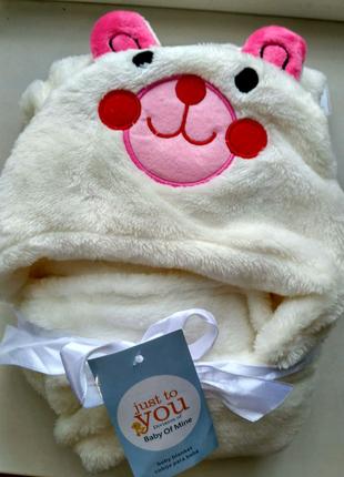 Детский плед, полотенце, одеяло