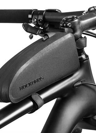 Велосумка на раму Rockbros 1,6 л байкпакинг сумка для велосипеда
