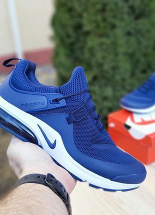 Крутые мужские кроссовки nike air presto leew синие