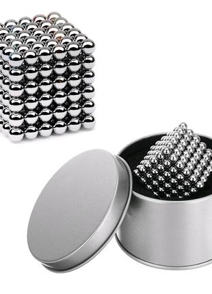 Неокуб, 216 шариков (серебряный)