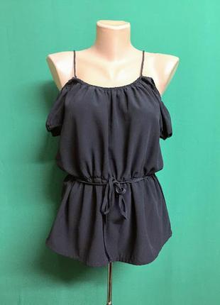 Туника vero moda с открытыми плечами