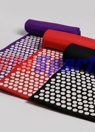 Большой аппликатор массажный коврик Кузнецова с иглами для спины