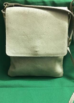 Итальяская сумка genuine leather borse in pelle