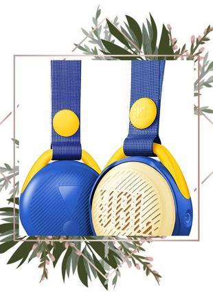 Портативная колонка JBL JRPOP Blue , Детская портавная акустика О