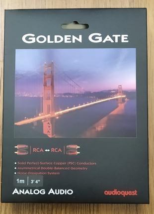 Кабель Audioquest Golden Gate RCA-RCA 1m
